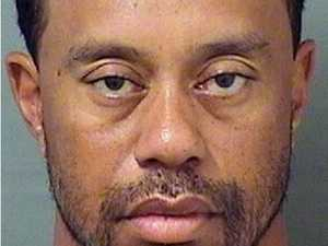Dashcam of Tiger Woods arrest