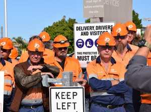 'Angry, empty': Axed Rocky worker left choking back tears
