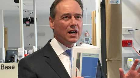 Newly-appointed federal Health Minister Greg Hunt outlines his priorities for the role in his first press conference in the job in January.