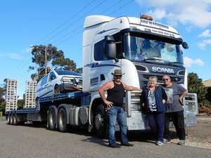 Truckin' all over: Mick Salty