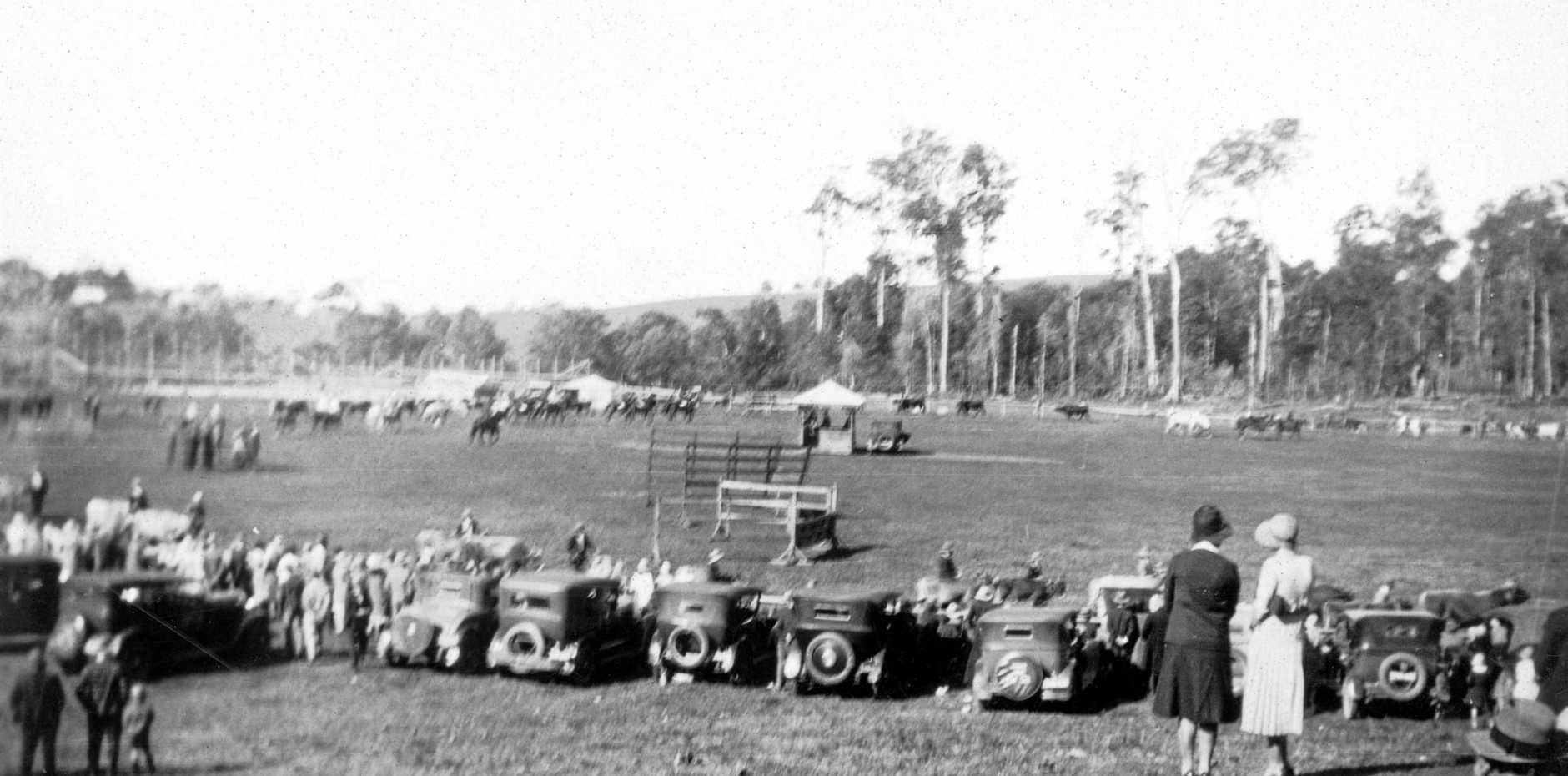 Maleny Showgrounds during the 1931 show.