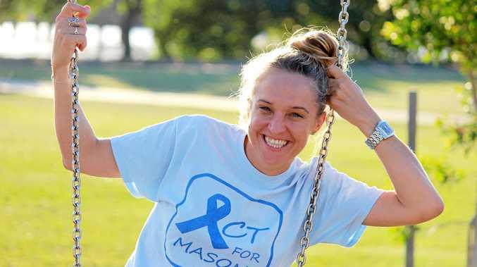 ACTION: Act for Mason team member, former Rockhampton student and journalist Nikkii Joyce.