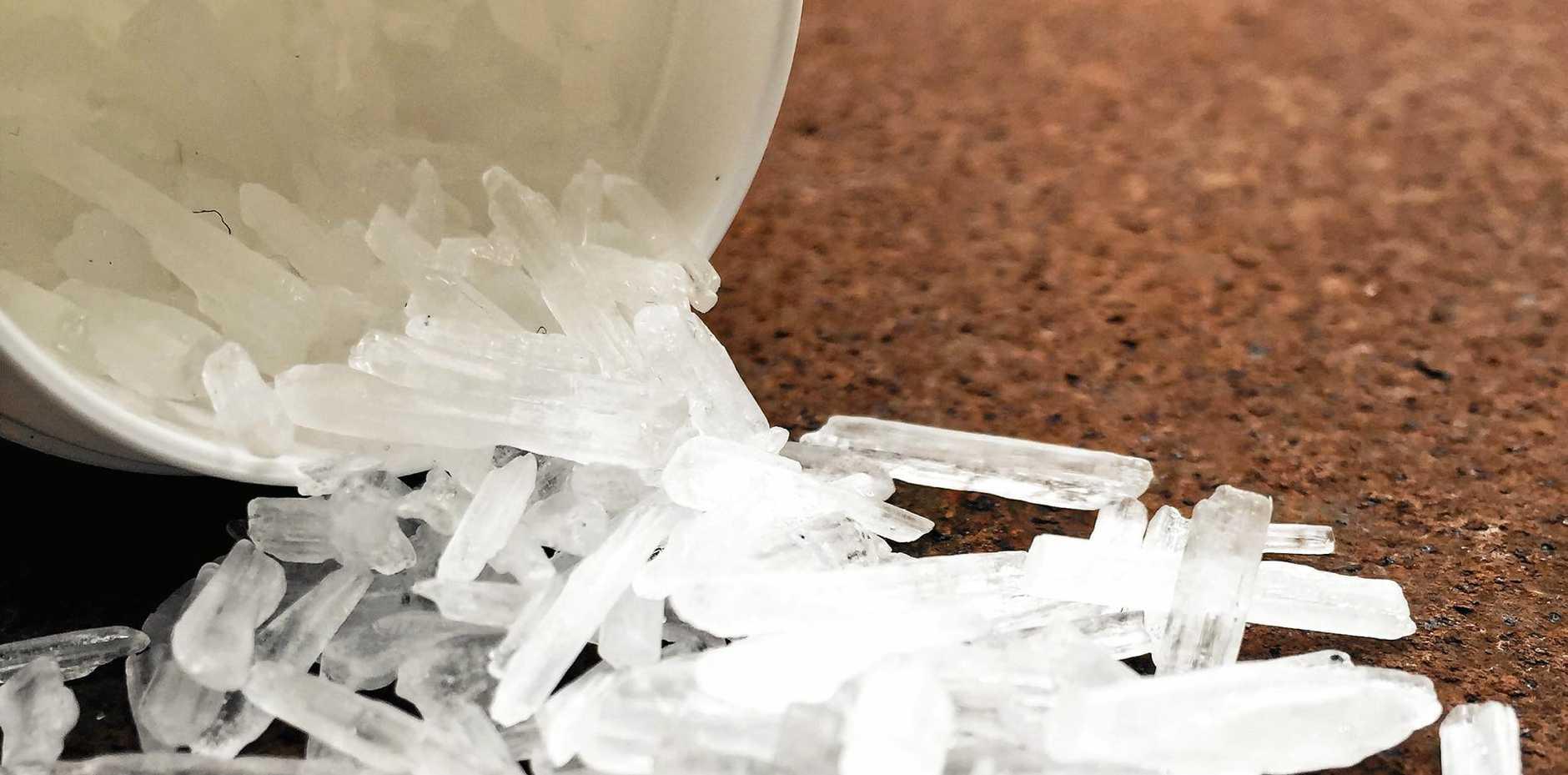 Methamphetamine also known as ice
