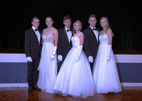 Taking part in the 41st Moranbah Debutante Ball were, Jayden Eglinton, Anais Hoffmann ,Bailey Smith, Caitlyn Barnes, Isaac Lee, Isabella McIntyre.