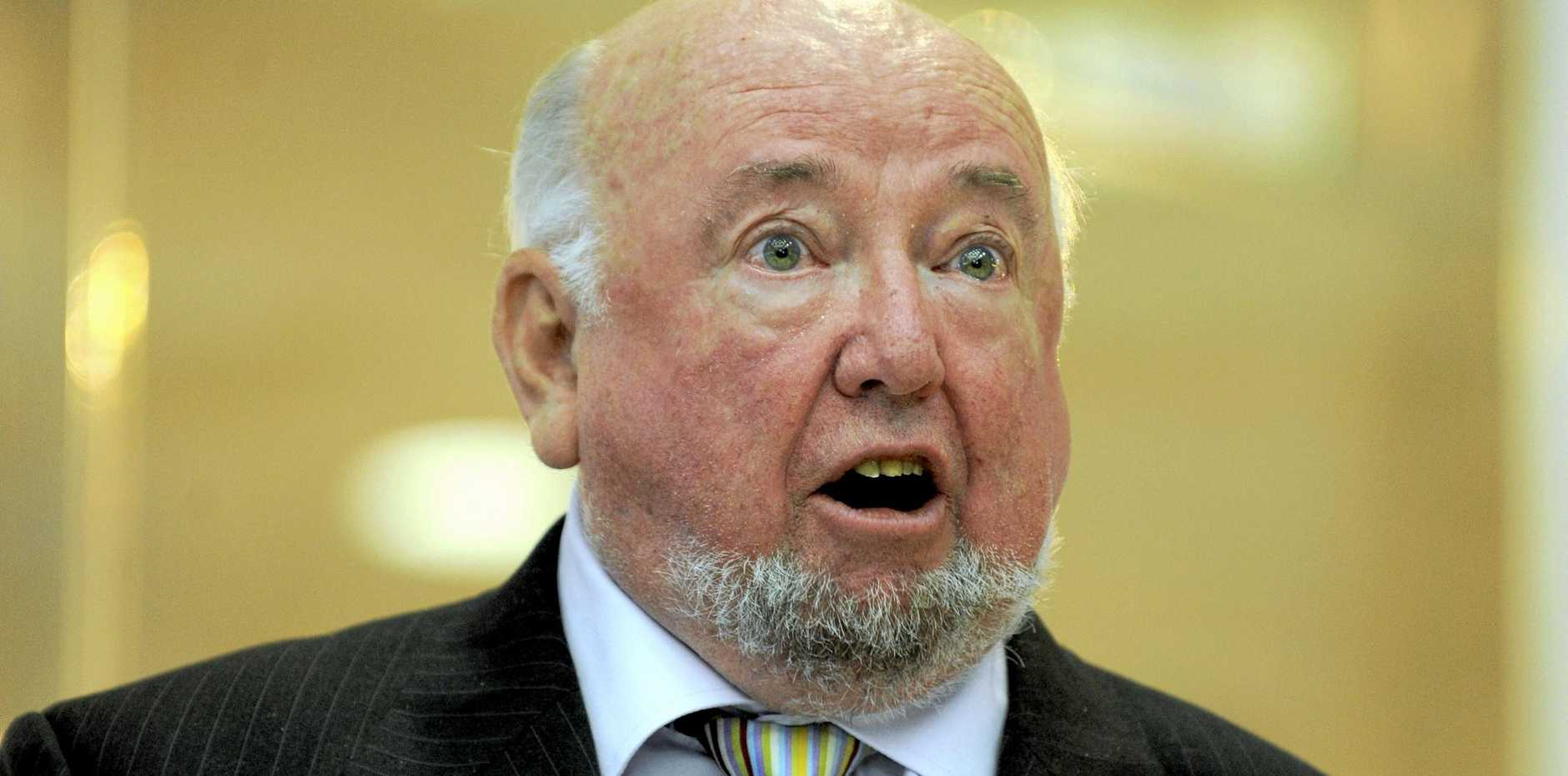 NICE BLOKE: Author Thomas Keneally wasn't too famous to respond to an email from Ashley