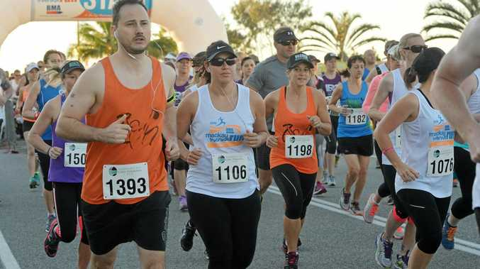 The breakwater will be centre stage again for the Mackay Marina Run.
