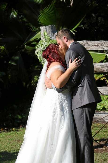 CUTE COUPLE: The pair are loving married life and their new shared surname.
