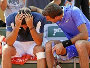 WATCH: Del Potro shows ultimate sportsmanship to hurt rival