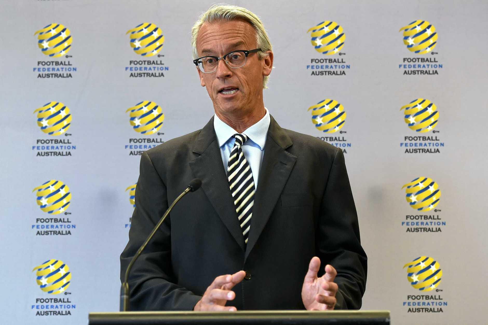 Football Federation Australia CEO David Gallop.
