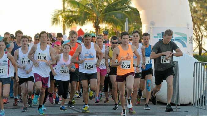 Runners are preparing for the 2017 BMA Mackay Marina Run.