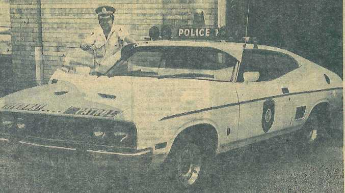 POTENT BEAST: It's have trouble keeping up with today's police cars, but this was state of the art policing in the 1970s