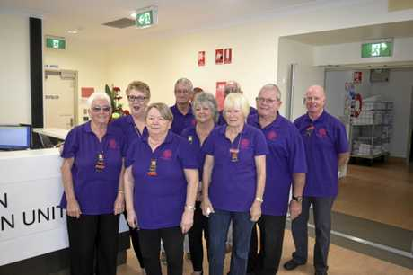Members of the Maclean District Hospital Auxiliary at the official opening of the Maclean District Hospital Rehabilitation Unit.