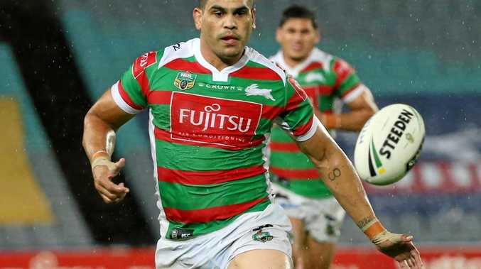 Greg Inglis of the Rabbitohs in round one of the NRL season.