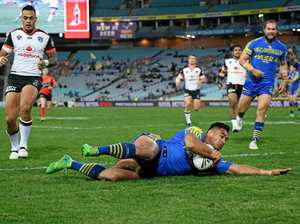 WATCH: Injury-hit Eels hang on for win over Warriors