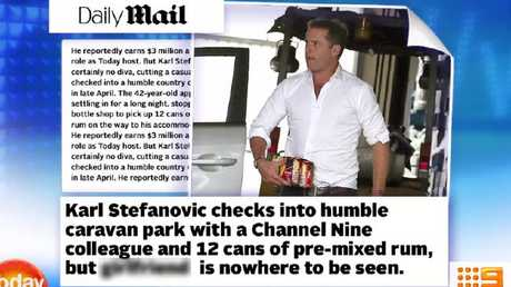 The article in question - blurring Nine's own.