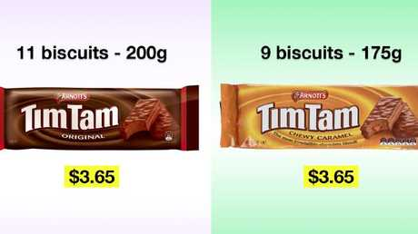 CHOICE's Tim Tam comparison takes the biscuit.