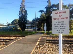 Rail path closure could divide Coast town