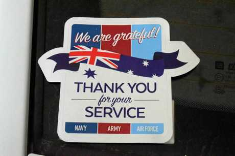 The Agnes Water and 1700 RSL sub branch will be selling stickers to show support for returning service persons and reduce suicide.