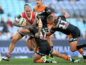 Origin reps help Dragons to victory over Tigers