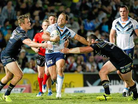 Cowboys star Michael Morgan stars in NRL win over sloppy Titans