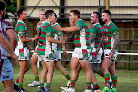 Rugby League, Maryborough - A grade. Hervey Bay Seagulls versus Isis Devils.