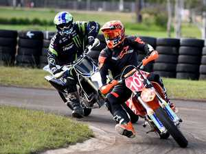 New supermoto track passes first test with flying colours