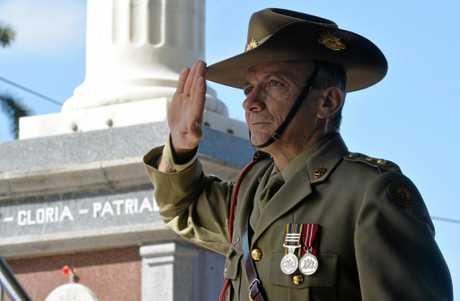 Parade Commander LTCOL Frank Marchetti.
