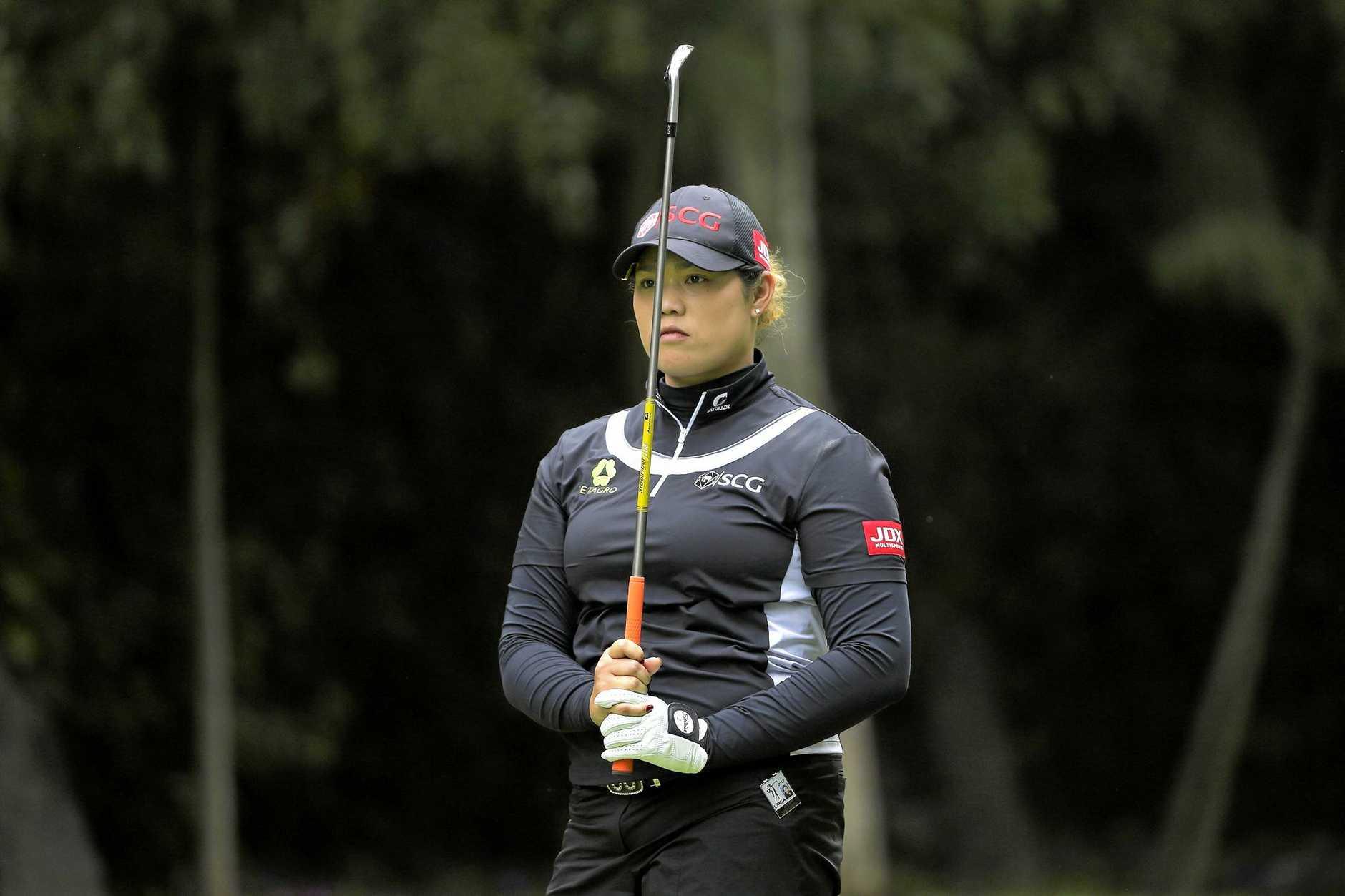WORLD NO.1: Thailand's Ariya Jutanugarn is the new leader in women's golf.