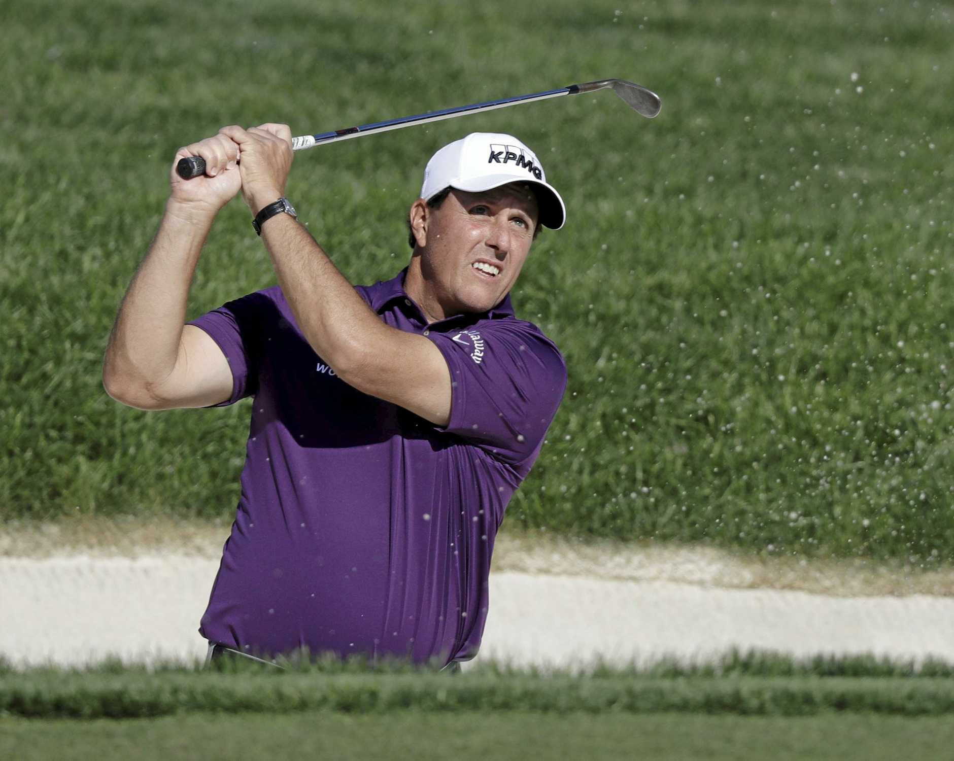 Phil Mickelson will be aiming to conquer Shinnecock Hills. (AP Photo/Darron Cummings)