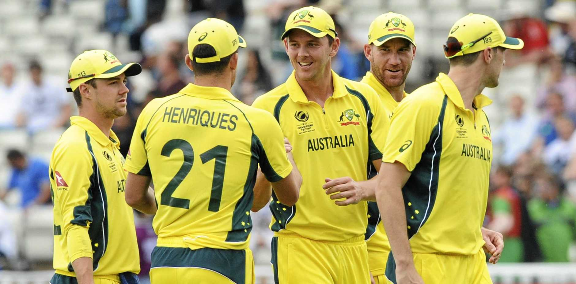 SAFE: The Australian cricketers playing in the Champions Trophy are safe after London attacks.