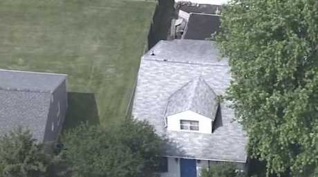 The house where the children were found.
