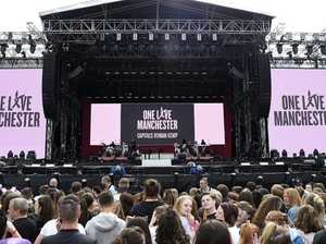 Minutes silence at One Love concert