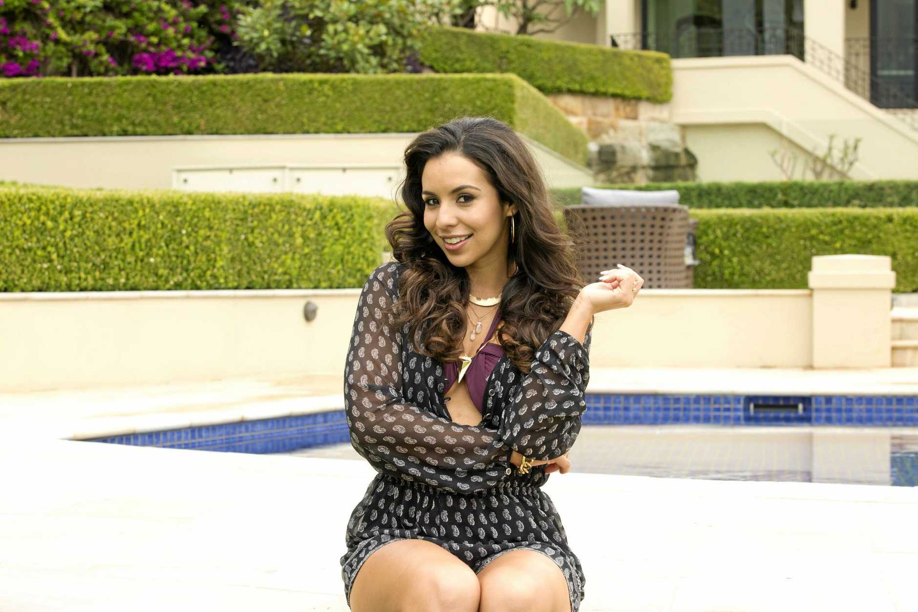 Kat Hoyos stars as Layla in Here Come The Habibs.