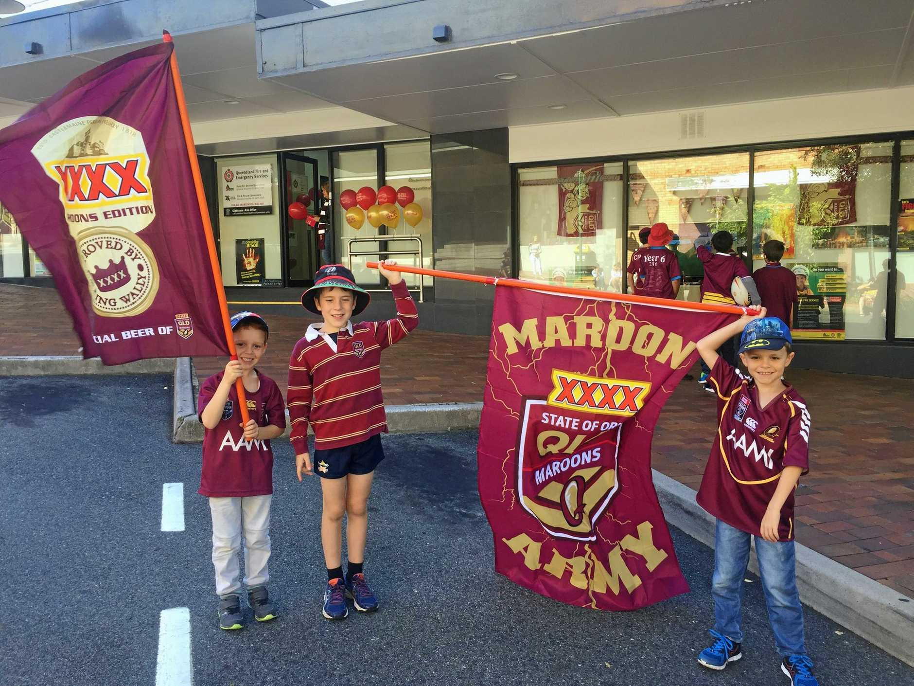 QUEENSLAND DAY: Nothing epitomises being a Queenslander more than wearing maroon.