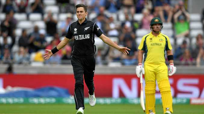 Trent Boult got two wickets against Australia on Friday.