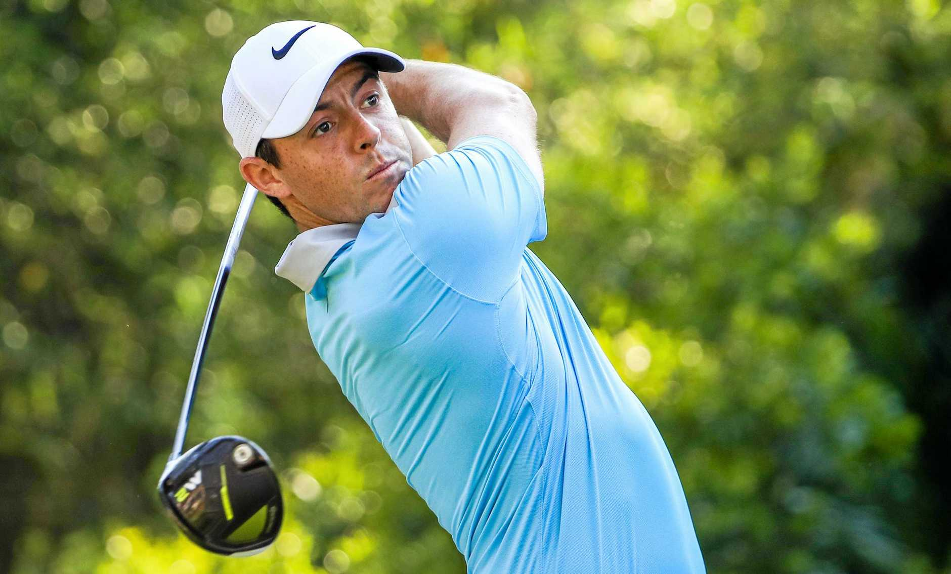 Rory McIlroy has been out with a rib injury.