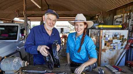 Pilbara stationhand Jess Edwards has been filming a 4WD video series around Karratha with Terrain Tamers' Allan Gray.