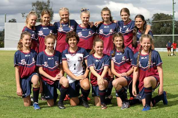 SSHS Under-15s girls.