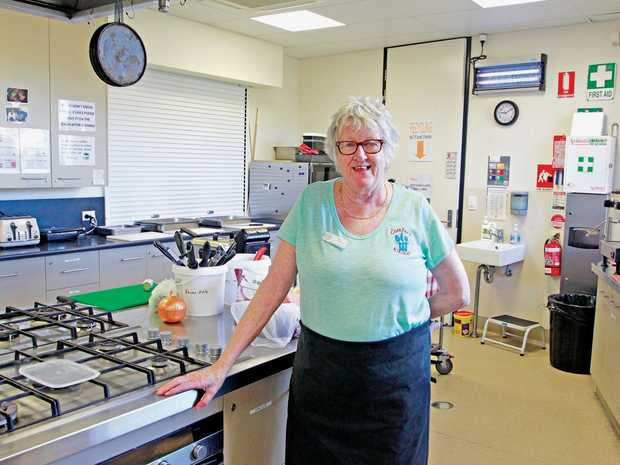 Toni Halley from Hervey Bay spends her days in the service of others at the Hervey Bay Neighbourhood Centre's Comfort Kitchen program.