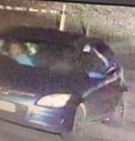 The man stole a sum of money and left the scene in this dark-coloured vehicle.