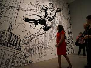 Superheroes battle in new exhibition at GOMA