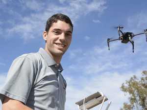 Drone at FarmFest