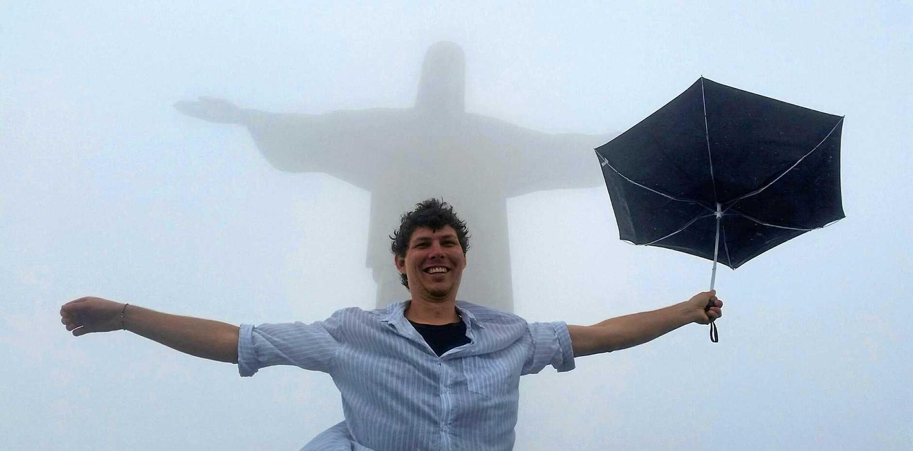 BIG PLANS: Traveloris founder Daniel Blickling on holidays.