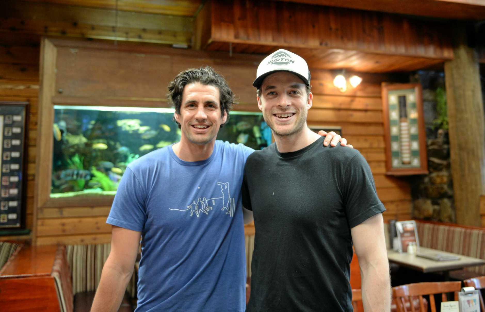 Hamish Blake and Andy Lee.