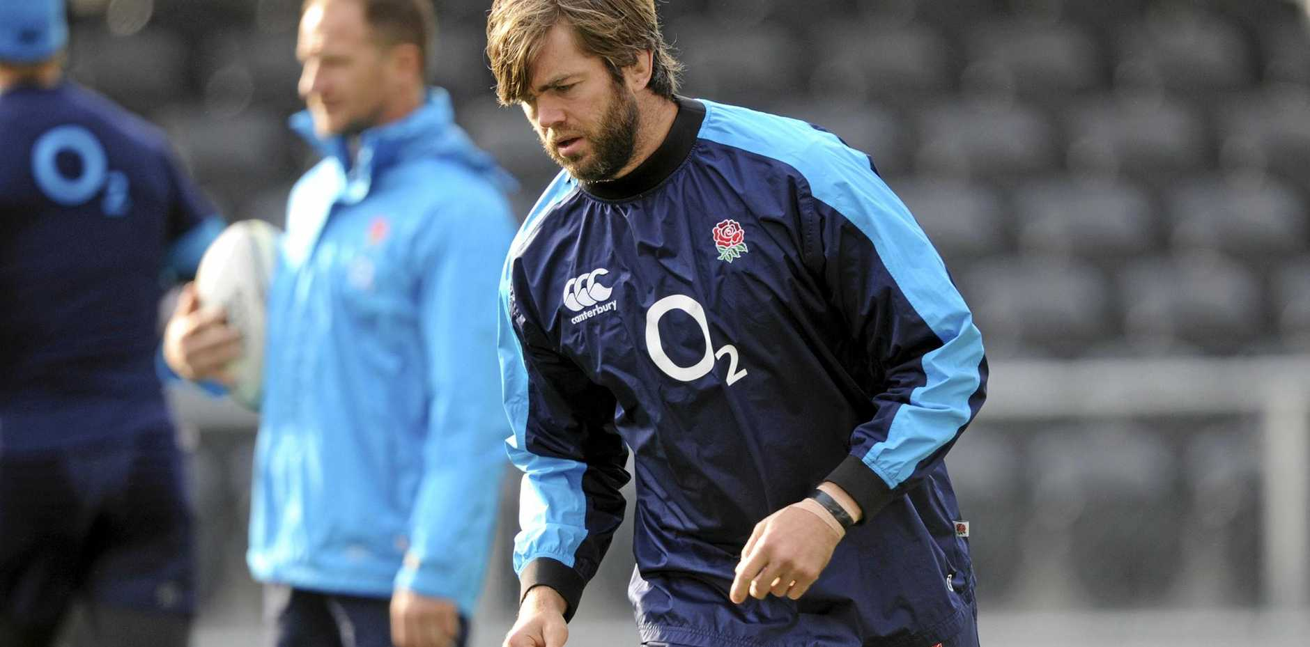 Geoff Parling will join the Rebels next year.