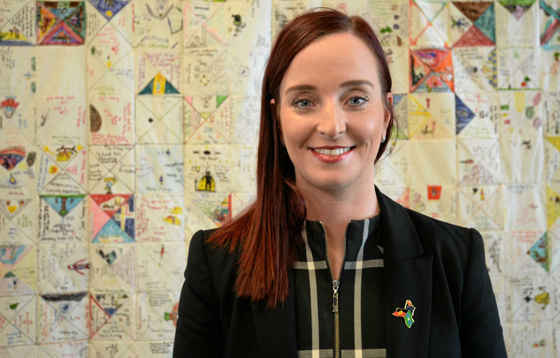 Member for Keppel, Brittany Lauga.Photo Allan Reinikka / The Morning Bulletin