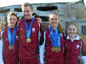 Young gymnasts defy adversity after fire ruins clubhouse