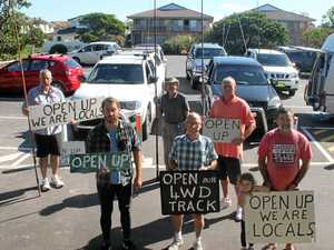 Anglers oppose beach 4WD track's closure