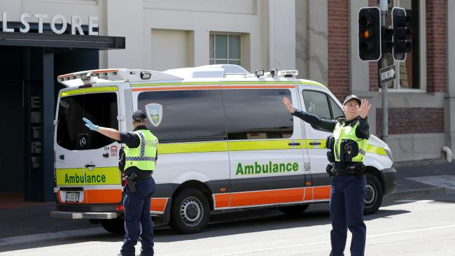 Tasmanian Police and Ambulance are being crushed by the weight of calls.