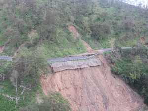 Footage of the destructed Sarina Range